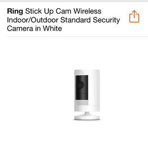 Ring Stick up Cam for Sale in Lakeland, FL