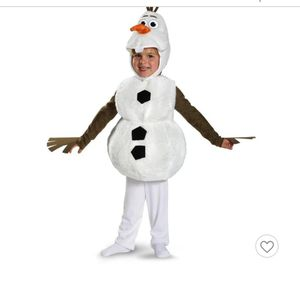 Olaf Halloween costume, new condition, Disney store brand for Sale in Miami, FL