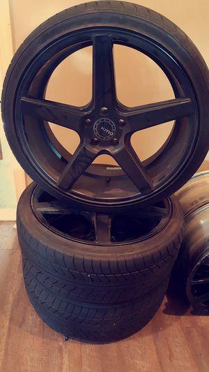 """20"""" black custom rims for Sale in Lake Ridge, VA"""