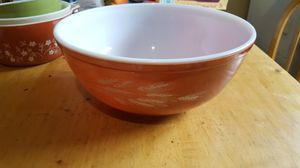 Pyrex Autumn Harvest Wheat 404 Mixing Bowl for Sale in Mifflinburg, PA