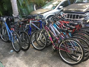Many bikes at great prices, kids , men's and women's from $25 and up for Sale in Miami, FL
