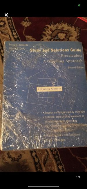 Study and Solutions Guide for Sale in Queens, NY