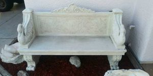 Faux Stone Bench for Sale in Las Vegas, NV