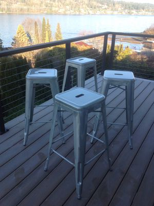 4 Industrial Style Bar Stools for Sale in Leavenworth, WA