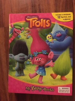 TROLLS MY BUSY BOOK for Sale in Poway, CA