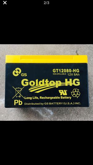 New In Box- GS BATTERY-HG-Rechargeable-Premium Replacement for AT&T, Centurylong & most other FTTH systems! for Sale in Reisterstown, MD