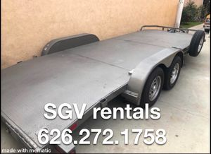20ft car trailer for Sale in Arcadia, CA
