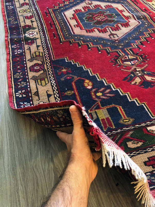 "Vintage Oriental Persian\Turkish Handmade ""Taşpınar"" Rug"
