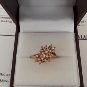 .48cttw Diamond Cluster Cocktail Ring. for Sale in Gilbert, AZ