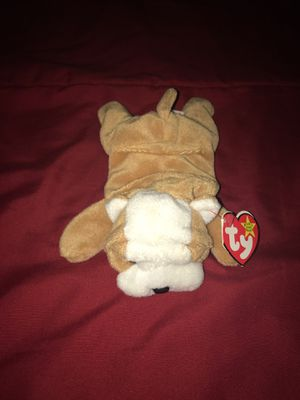 """Wrinkles"" The dog- Original ty Beanie Baby (Retired) Mint Condition for Sale in Hightstown, NJ"