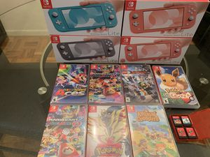 New Nintendo Switch lite-Price is FIRM!!!!- READ description- for Sale in Washington, DC