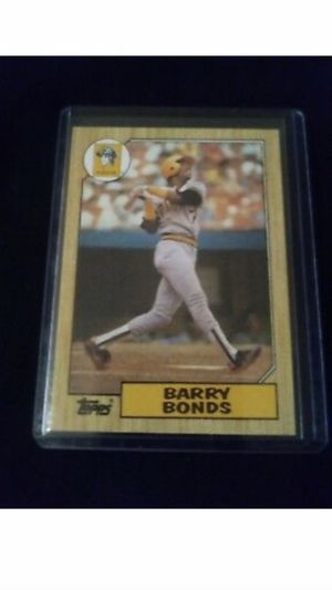 1987 Topps Barry Bonds Rookie Card #320 Error RARE!!! for Sale in Paragould, AR