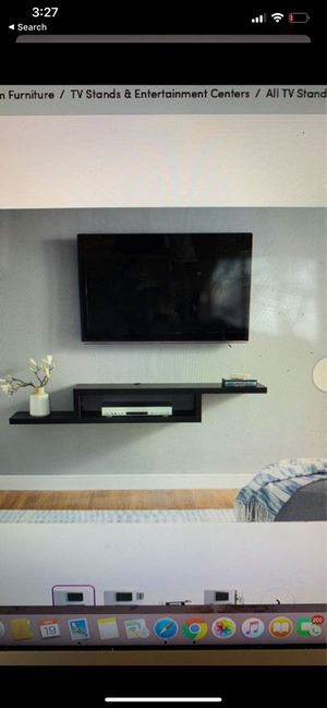 BRAND NEW In Box. Floating TV Stand Entertainment Center! for Sale in Pittsburgh, PA