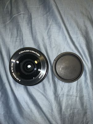 Sony - 16-50mm f/3.5-5.6 Retractable Zoom Lens for Sale in Torrance, CA