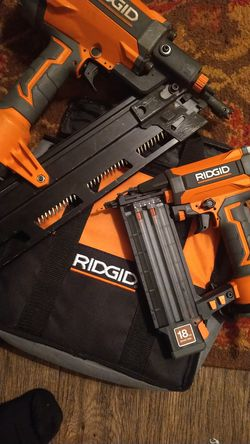 Ridgid nailers for Sale in Portland,  OR