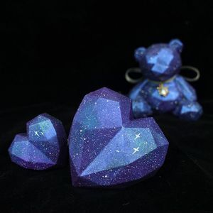 Custom Resin Teddy bear 🧸 w/ hearts for Sale in Hartford, CT