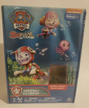 Paw Patrol Sea Patrol Save The Octopus Game NICKELODEON Kids New for Sale in Long Beach, CA
