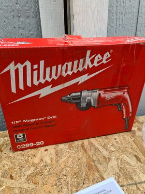 Milwaukee 8 Amp 1/2 in. Magnum Drill for Sale in Snohomish, WA