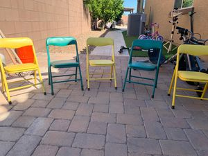 5 kids chairs for Sale in Chandler, AZ