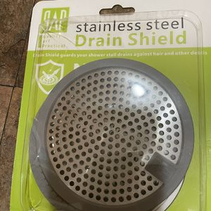 Stainless Steel Hair Drain clog remover Drain Shield for Sale in South Pasadena, CA