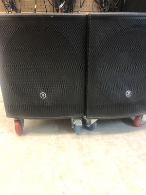 Mackie srm1801 powered subwoofers for Sale in Maryville, TN