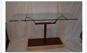 Metal and Glass Console Table for Sale in Grosse Pointe, MI