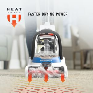 Hoover Powerdash Pet Compact Carpet Cleaner with Antimicrobial Pet Brushes for Sale in Littlerock, CA