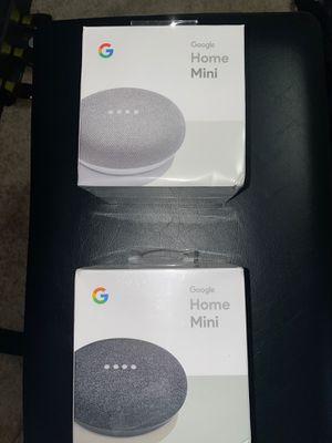 Google Home Mini 1st Generation (Chalk and Charcoal) for Sale in Ocoee, FL
