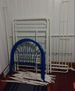 Bed rails and bunk bed (no screws) for Sale in North Charleston, SC