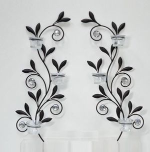 Home decor wall candle holder for Sale in Angier, NC