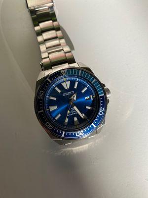 Limited Edition Seiko Samurai Blue Lagoon - like new!! for Sale in Los Angeles, CA