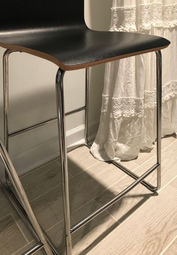 Black stools Perfect Condition