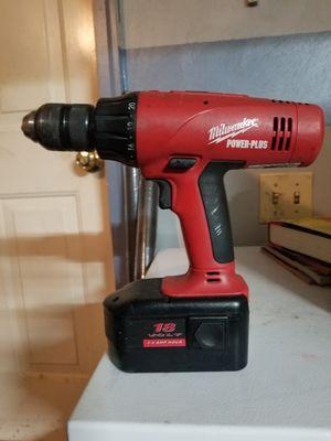 Milwaukee 18v cordless drill driver for Sale in Virginia Beach, VA