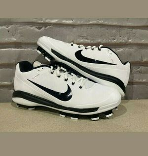 Nike Air Clipper 17 White & Black Baseball Cleats Size 14 895769-101 for Sale in East Wenatchee, WA
