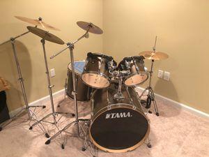 TAMA 10 Piece Drum Set for Sale in Bristow, VA