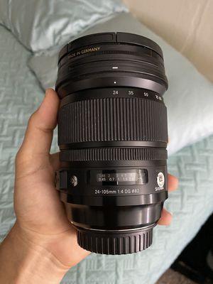 Sigma 24-105 f/4 for Canon EF with B+W Circular Polarizer Filter for Sale in Santa Monica, CA