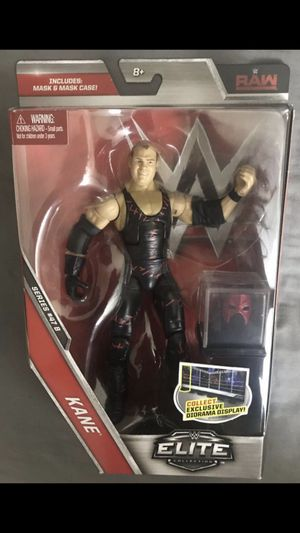 """Raw KANE 7"""" Action Figure Mattel WWE Elite Collection Series #47 B for Sale in Los Angeles, CA"""