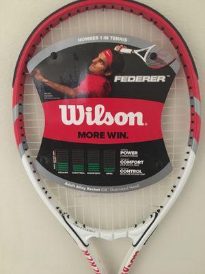 """Wilson Roger Federer Adult Alloy Oversized 106"""" Tennis Racket for Sale in Alexandria, VA"""