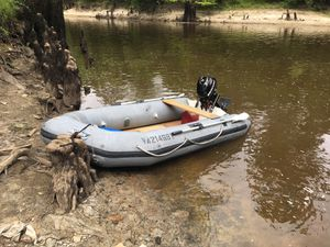10' dinghy with 3.5hp mercury out board for Sale in Suffolk, VA
