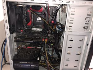 Custom Built Gaming Computer with 2 Monitors for Sale in Gig Harbor, WA