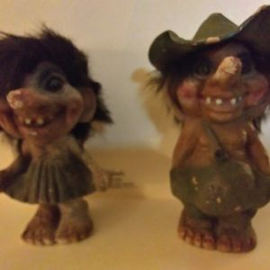 Vintage Ugly Farmer Trolls for Sale in Dallas, TX