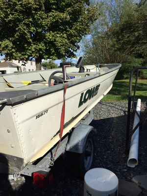 Aluminum boat for Sale in Upper Freehold, NJ