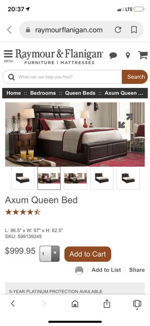 Queen bed frame for Sale in Brooklyn, NY