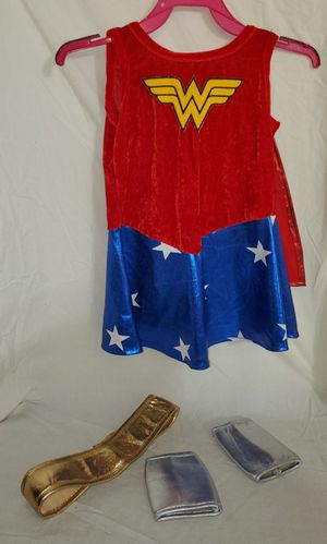 Wonder Woman toddler costume for Sale in Bowie, MD