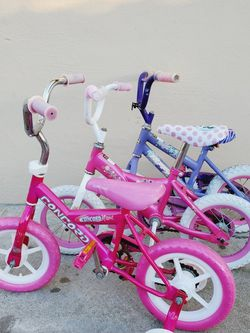 Girls Bikes 12.5 Inch $15 Each for Sale in San Lorenzo,  CA