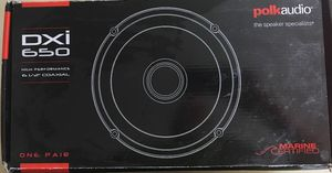 """Polk 6.5"""" coaxial speakers. for Sale in Gaithersburg, MD"""