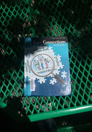 Core Connections Integrated 1 math book for Sale in Poway, CA