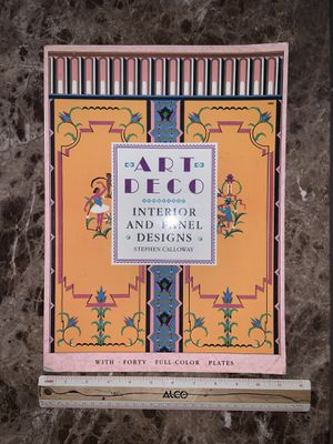 Art Deco coffee table book for Sale in St. Petersburg, FL