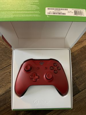 Microsoft Xbox One Wireless Controller, Red, WL3-00027 for Sale in Los Angeles, CA