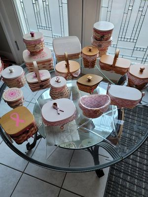 Longaberger Breast Cancer Baskets for Sale in Jefferson, MD